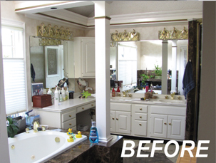 BEFORE - BOWA Universal Design Master Suite Renovation in Virginia