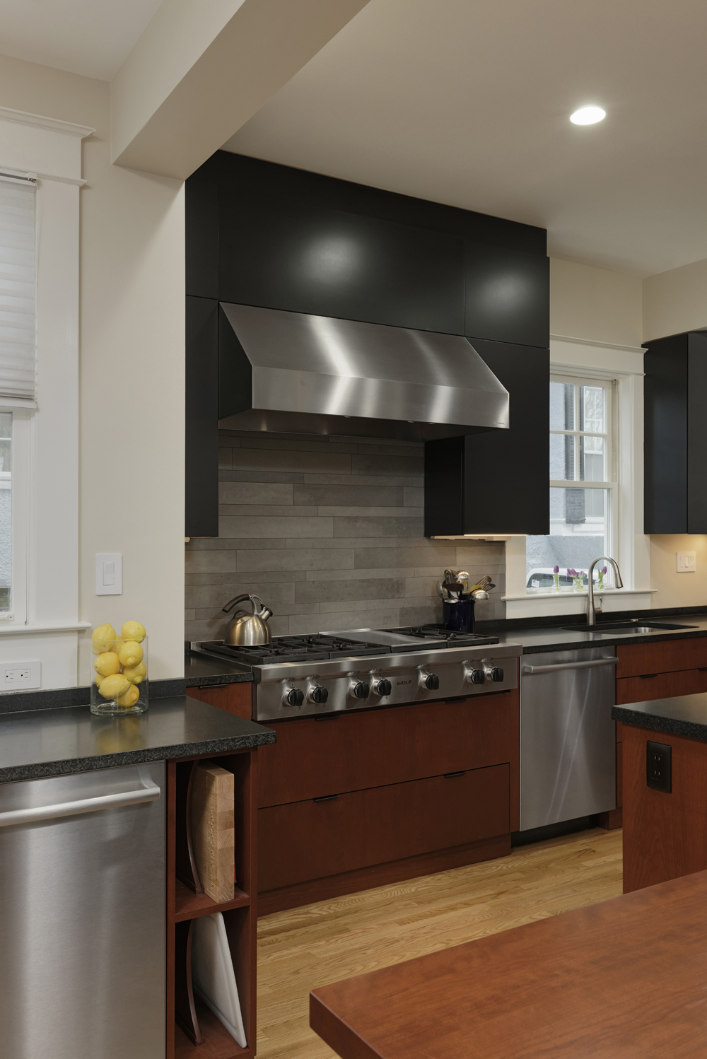 Cleveland park dc kosher kitchen renovation bowa for Kosher kitchen design