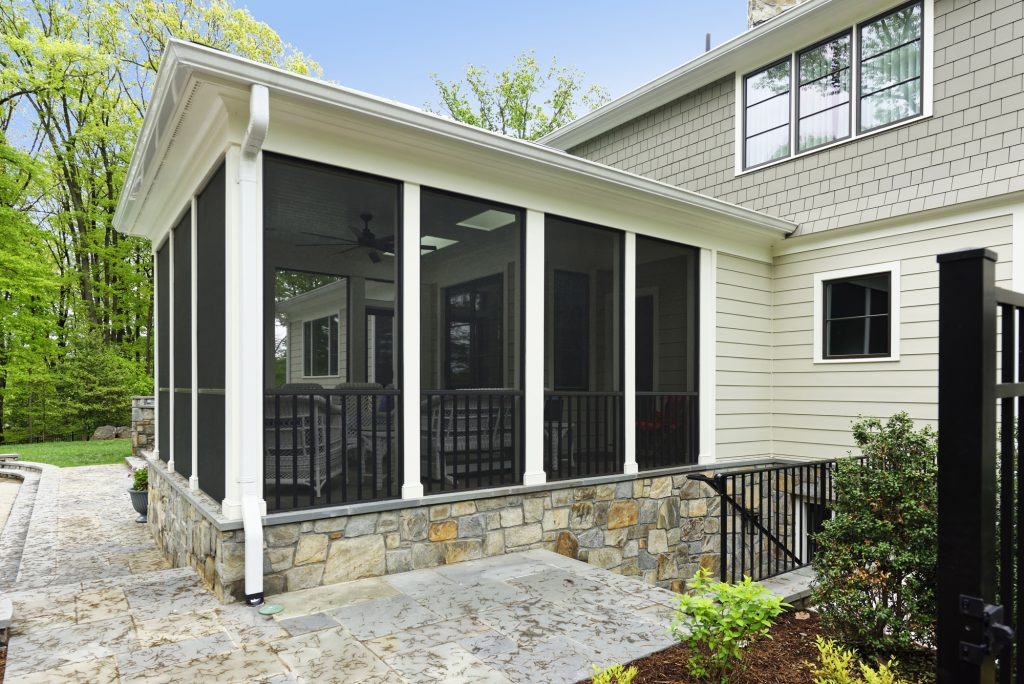 McLean, Virginia Screen Porch Addition