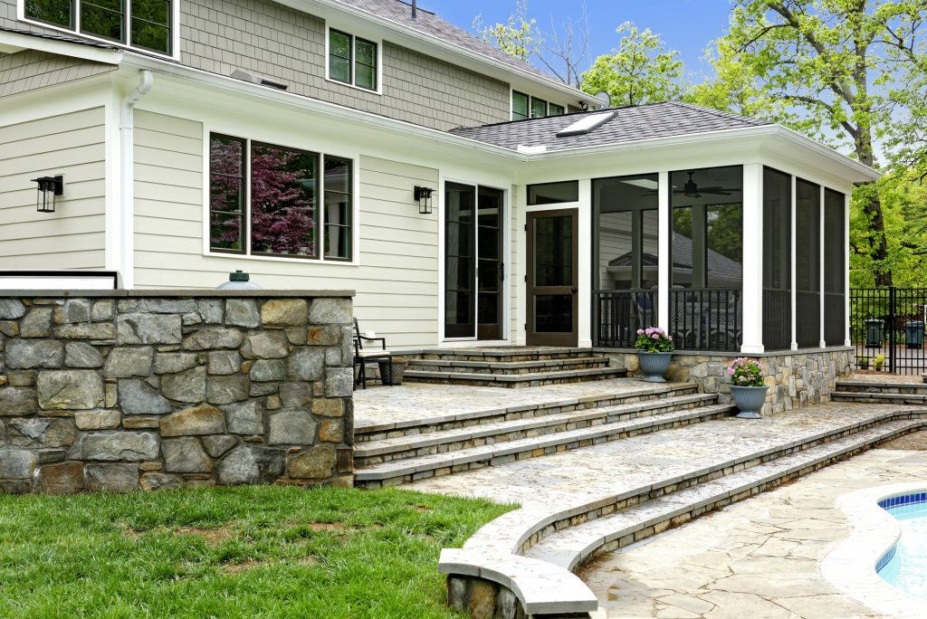 McLean, Virginia Screened-In Porch Addition