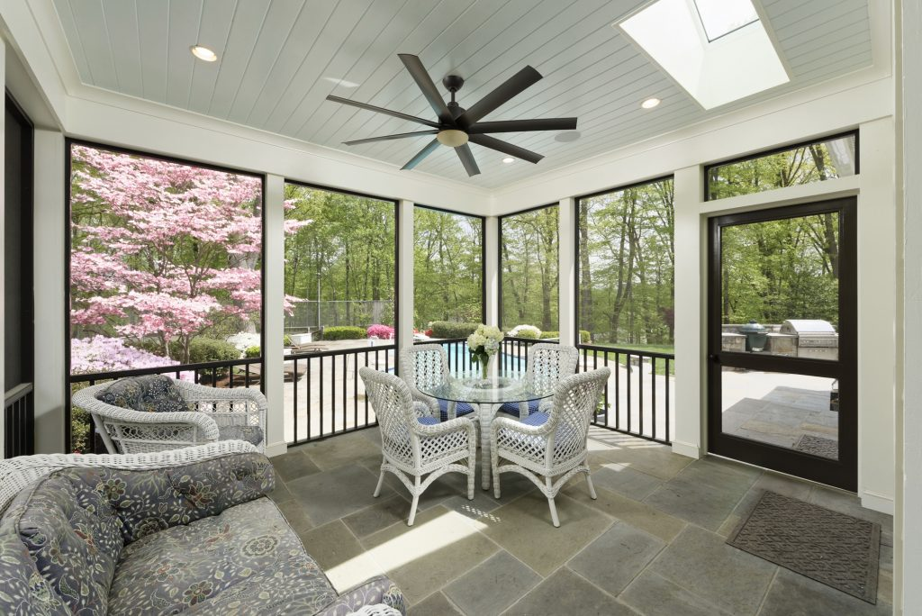 McLean, VA Screen Porch Addition Interior