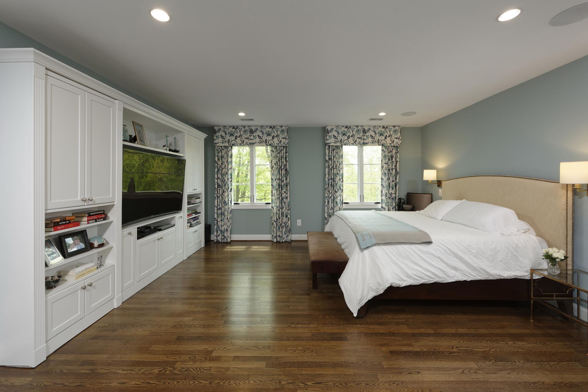 McLean, Virginia Master Bedroom Renovation With Builtins