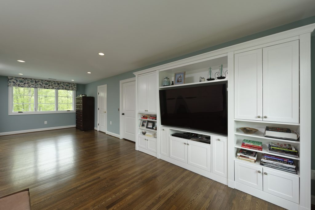 McLean, Virginia Master Suite Renovation with Builtins