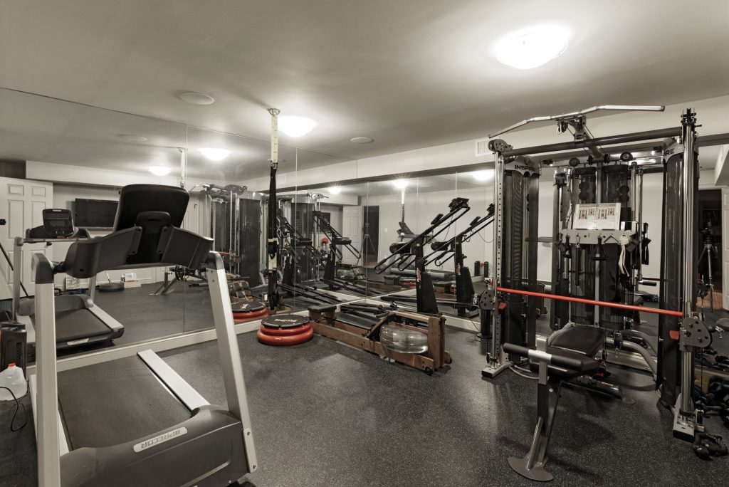 BOWA Design Build Renovation including Home Gym in McLean, VA
