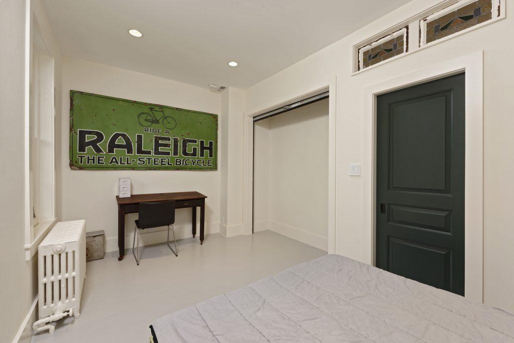 BOWA design build row home renovation in Washington, DC Guest Bedroom