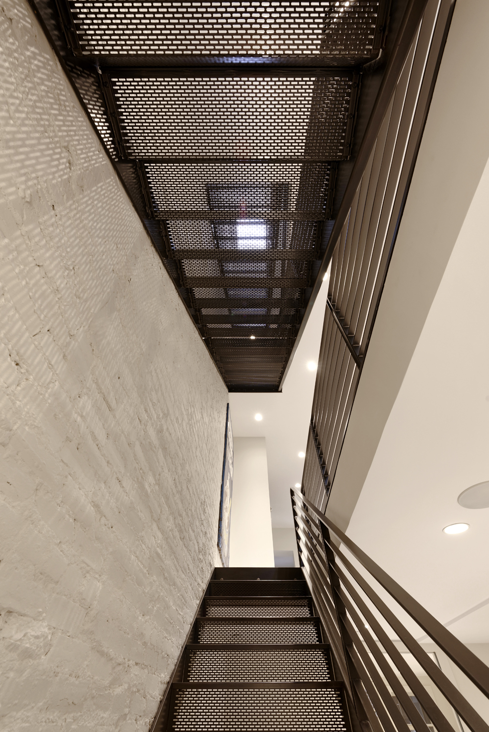 Industrial Chic Row Home Renovation In Dupont Circle Dc