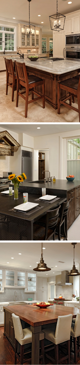 BOWA Kitchen Renovation - Kitchen Island Design