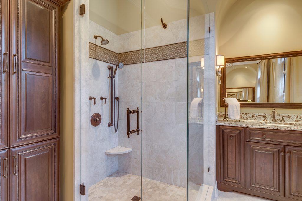 Masterbath renovation in Great Falls VA
