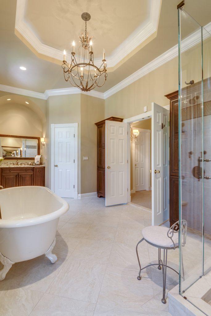 Master bathroom renovation in Great Falls VA