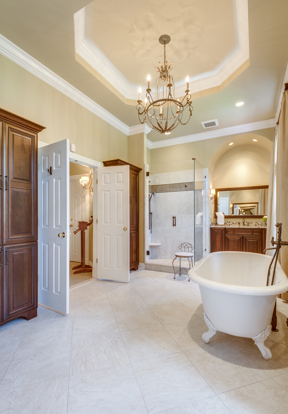 Design Build Master Bath Renovation In Great Falls VA
