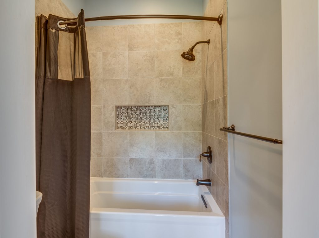 Shower renovation in Great Falls VA