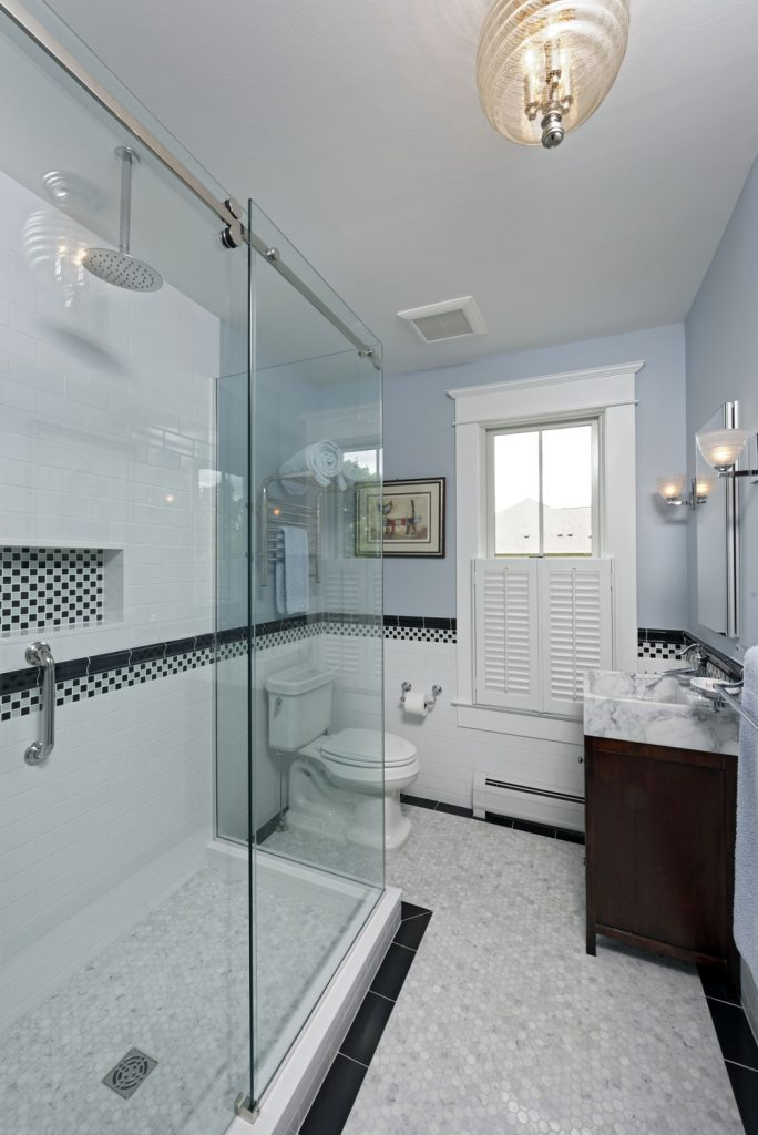 McLean VA 1910 Whole-Home Design Build Renovation beautiful bathroom