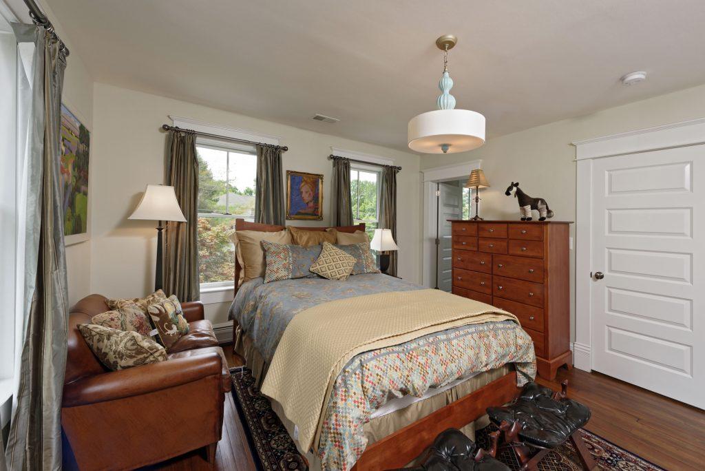 McLean VA 1910 Whole-Home Design Build Renovation Guest Room