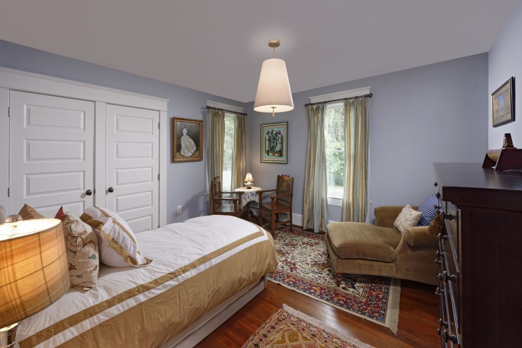 McLean VA 1910 Whole-Home Design Build Renovation Bedroom