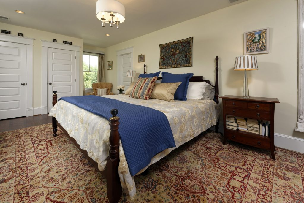 McLean VA 1910 Whole-Home Design Build Renovation Master Bedroom