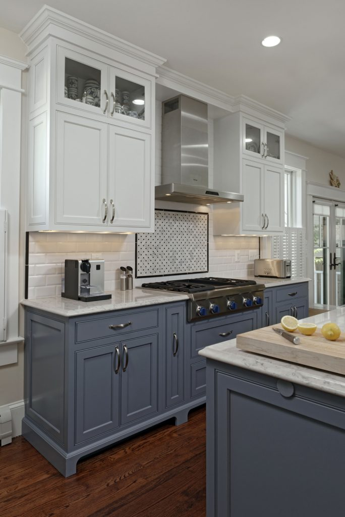 McLean VA 1910 Whole-Home Design Build Renovation beautiful country kitchen