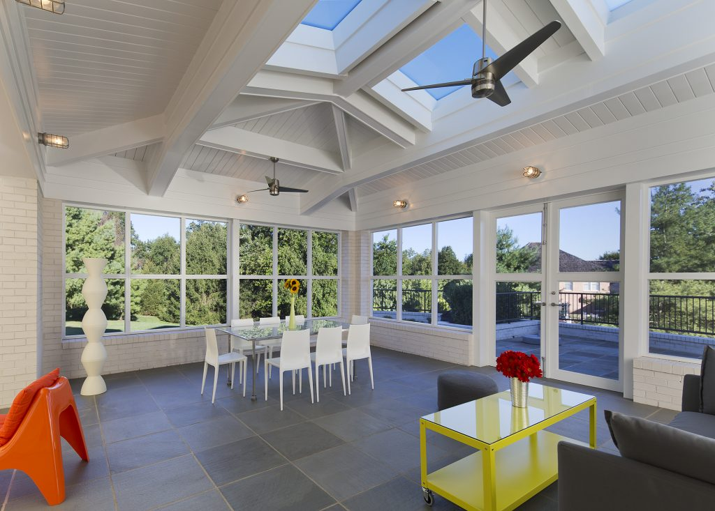 Screen Porch Addition in Potomac MD