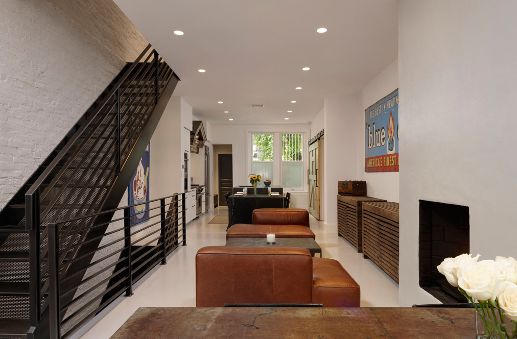 Industrial Chic Renovation in Dupont Circle, DC