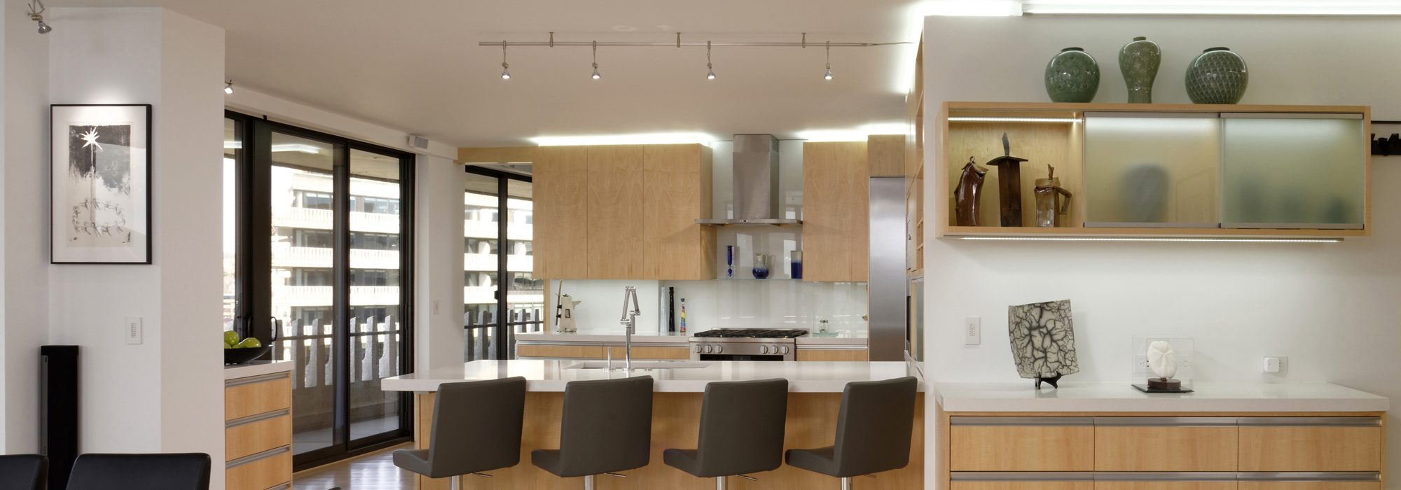 DC-Condominium-Design-Build-contemporary-kitchen