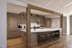Kitchen Remodel in McLean Beams