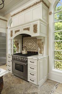 Kitchen Remodel in McLean Beautiful Backsplash