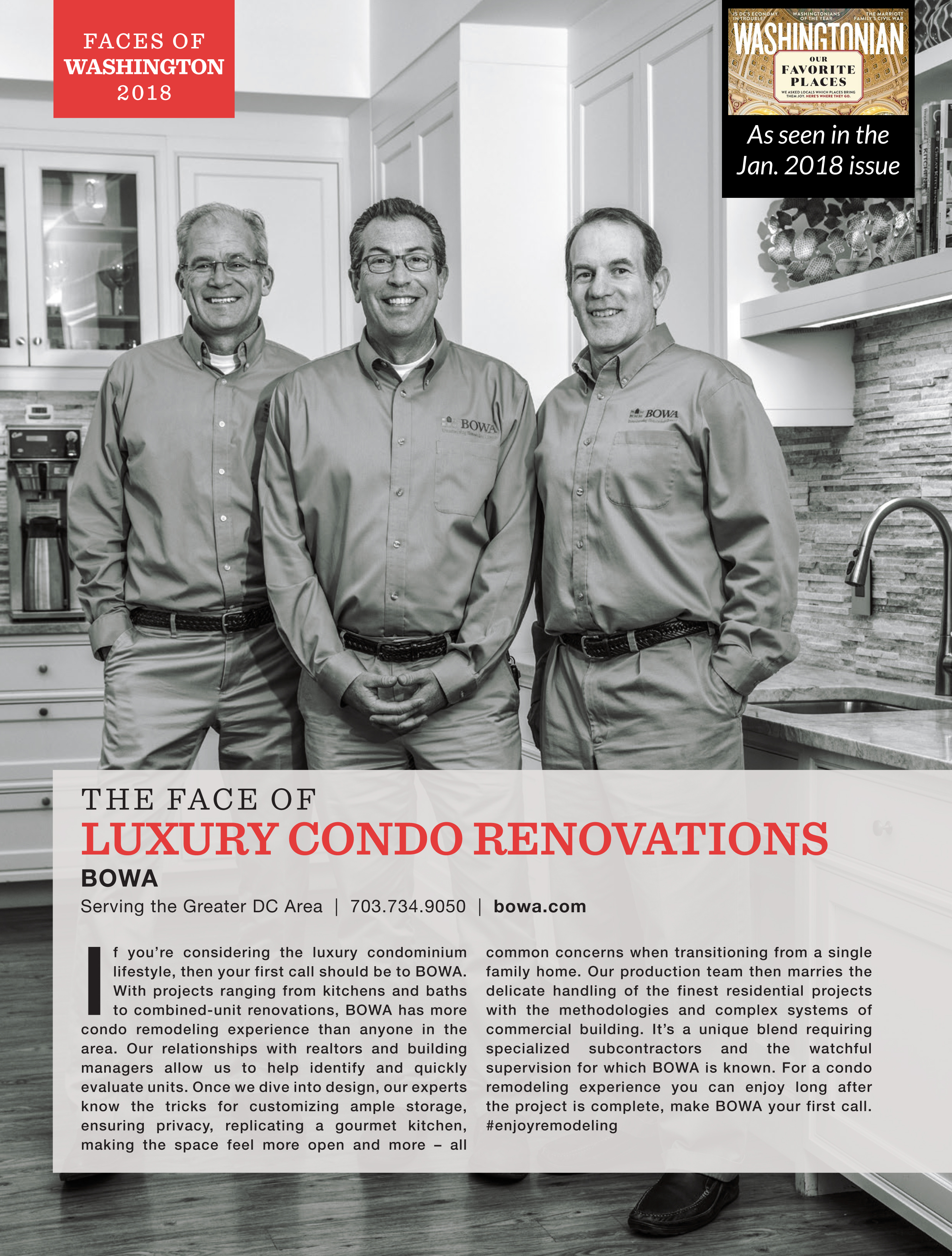 Face of Luxury Condo Renovations