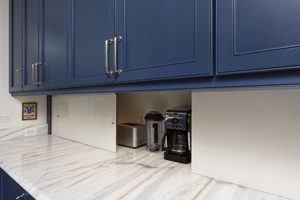 McLean VA Kitchen Renovation with Appliance Garage