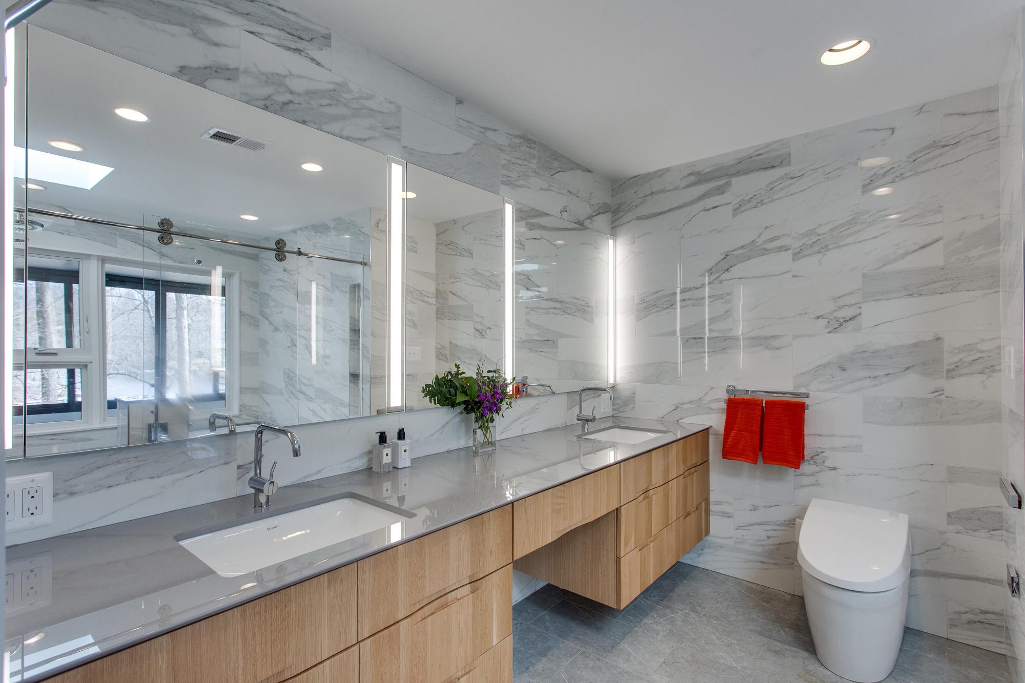 Master baths bathrooms photos gallery bowa design build renovations for Bathroom remodeler falls church va