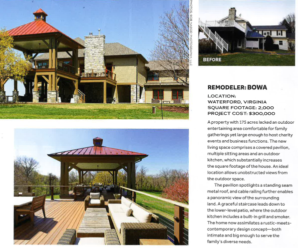 18APR Qualified Remodeler 2018 Outdoor Planning Guide - BOWA Feature