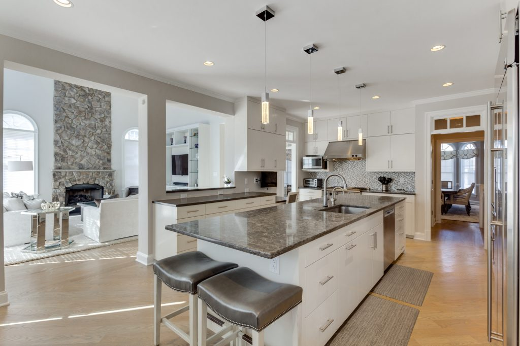 Contemporary Home Design - Kitchen Remodel
