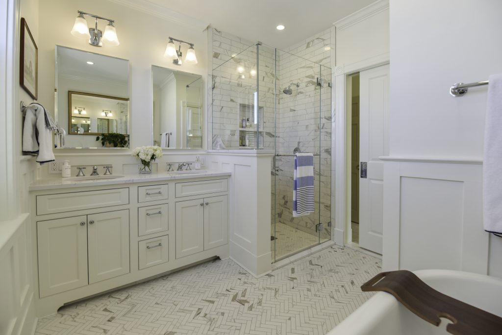 DC Rowhome Design - Kitchen Master Suite Remodel - End Unit Townhome DC