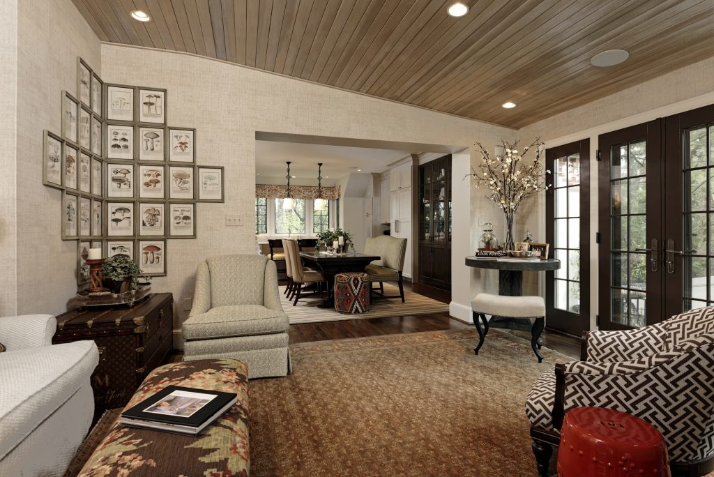 Chevy Chase Whole House Remodel - Tudor Design - Updated Home