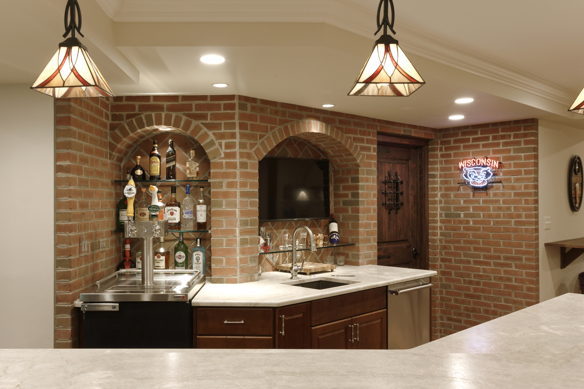 Basement Remodel In Mclean Perfect For Entertaining Bowa Wiring Return To Our Featured Project Profiles