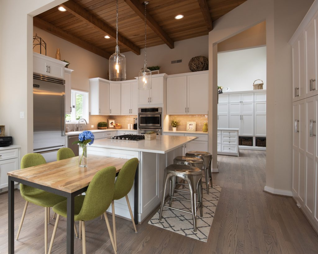 Reston Virginia Transitional House Design - Interior Design Renovaiton