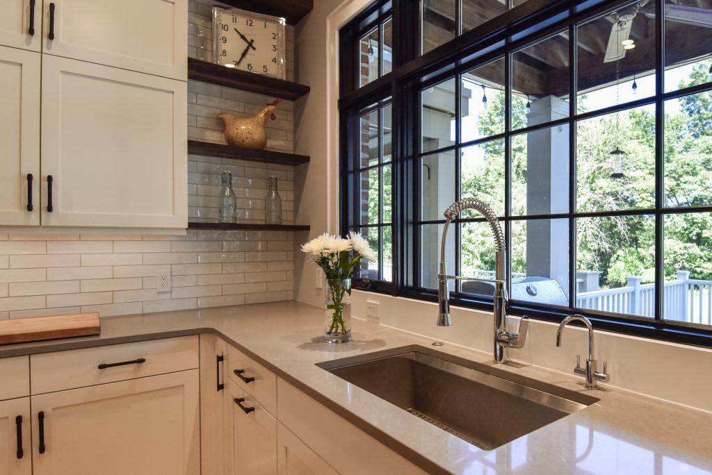 Leesburg Kitchen Renovation - Industrial Loft Kitchen Design - Client Experience