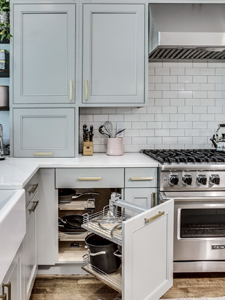 BOWA Tips for improving functionality in your home this fall - kitchen storage