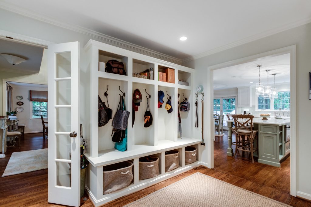 Virginia Whole House Renovation - Kitchen Design - Mudroom Design