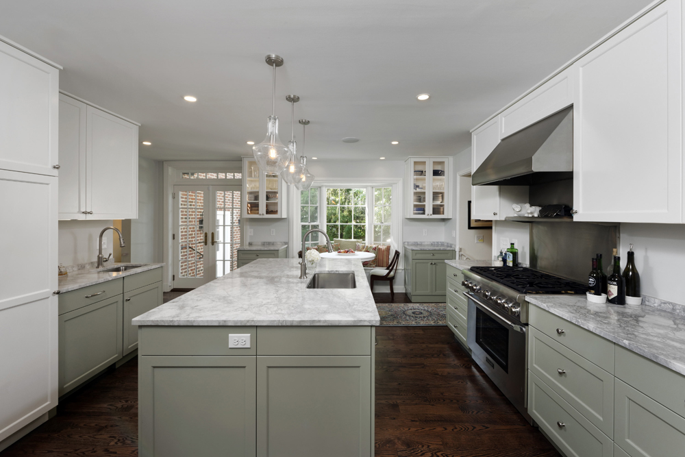 DC Single Family Home Design - DC Design Build Firm - Kitchen Remodel