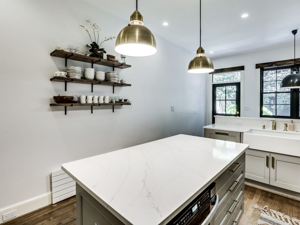 DC Rowhome Remodel - Georgetown Rowhouse Renovation - Rowhome Kitchen Design