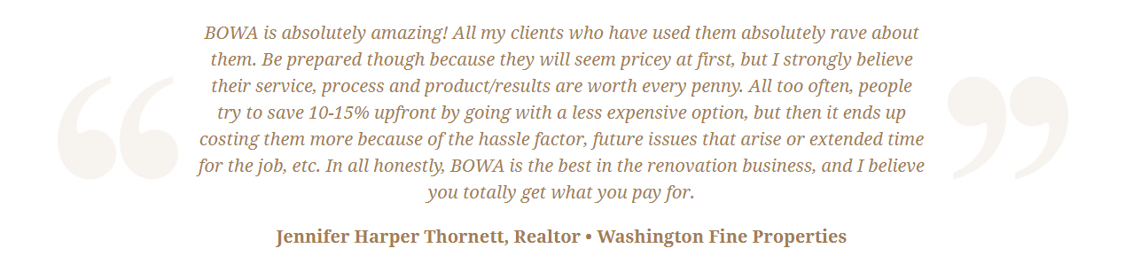 BOWA Client Review - Jim Harris Thornett w