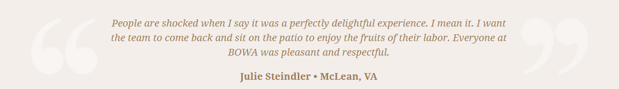 BOWA Client Review - Jim Harris steindler t