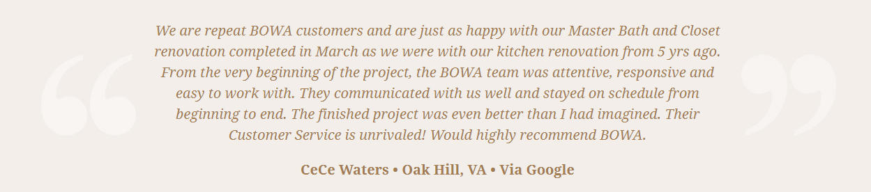BOWA Client Review - Steve Scholl - Waters t