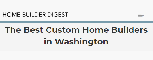 BOWA - The Best Custom Home Builders in Washington