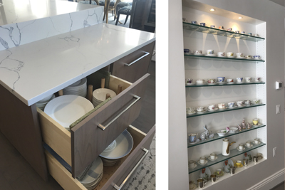 BOWA Design Build Renovations - Incorporate Your Individual Style - storage needs