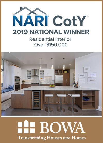 BOWA Wins National CotY for Condo Renovation