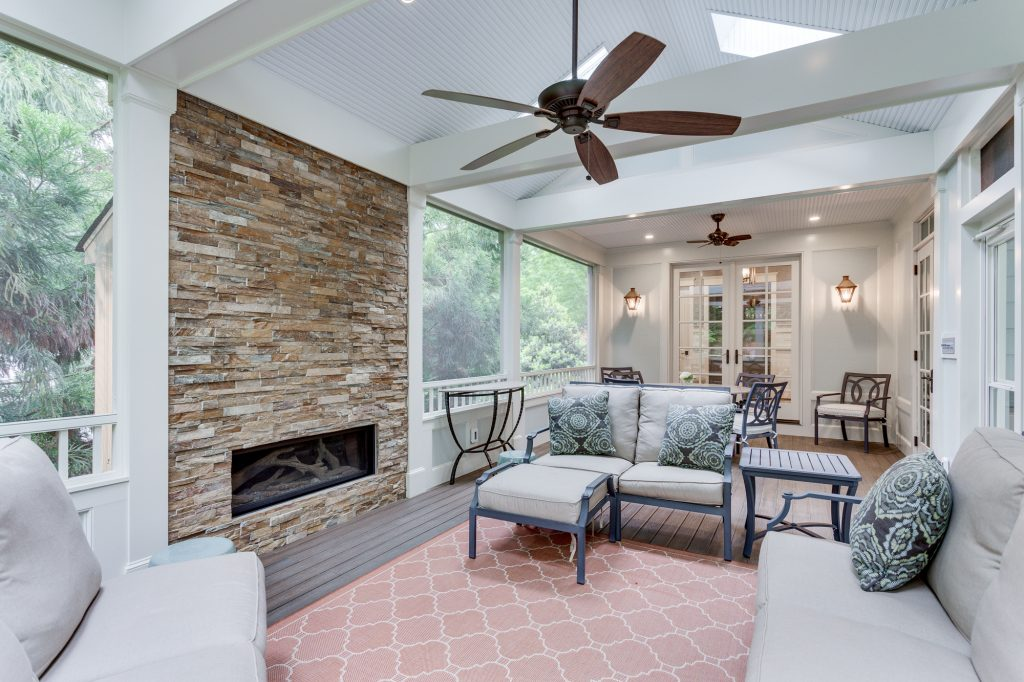 Screened-In Patio Design McLean VA