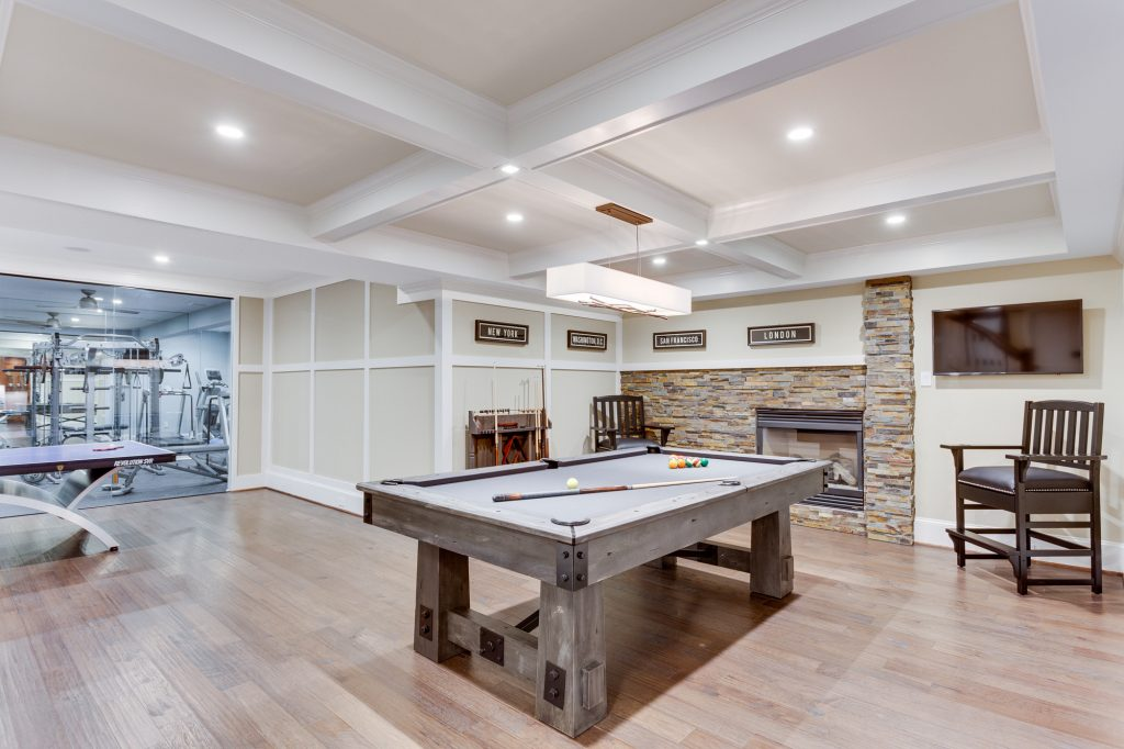 Basement Renovation McLean Virginia