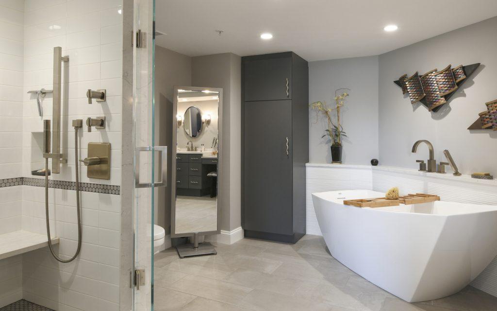 Bethesda Master Bathroom Renovation Condo