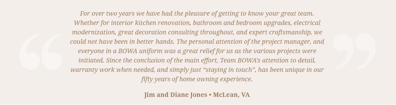 Google Review Remodeling Design Build Renovation - Jim Jones