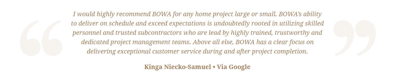 Google Review Remodeling Design Build Renovation - Kinga Samuel